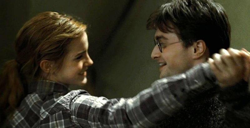 harry en hermione dansen