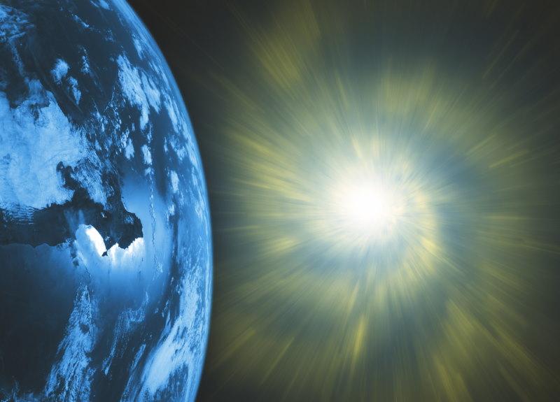 supernova bij aarde