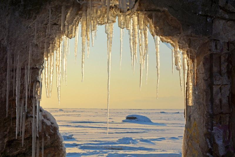 vijf ijstijdvlakken