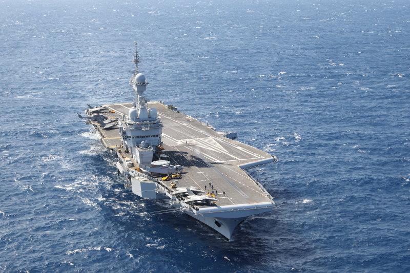 Charles de Gaulle - groot vliegdekschip