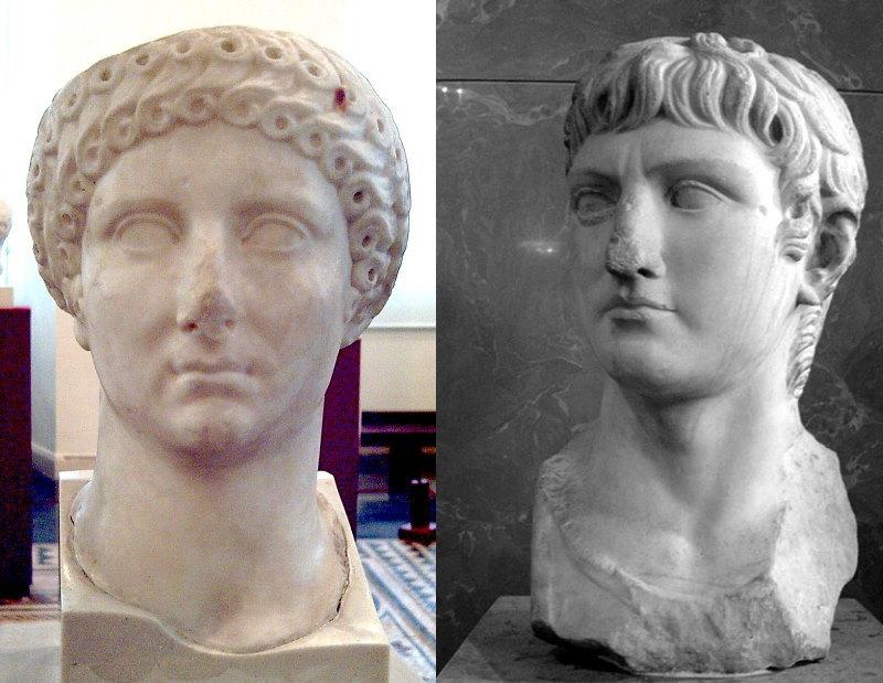 Agrippina en Germanicus - De ouders van Caligula