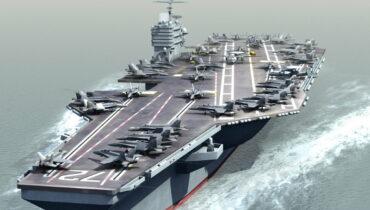 Nimitzklasse vliegdekschip