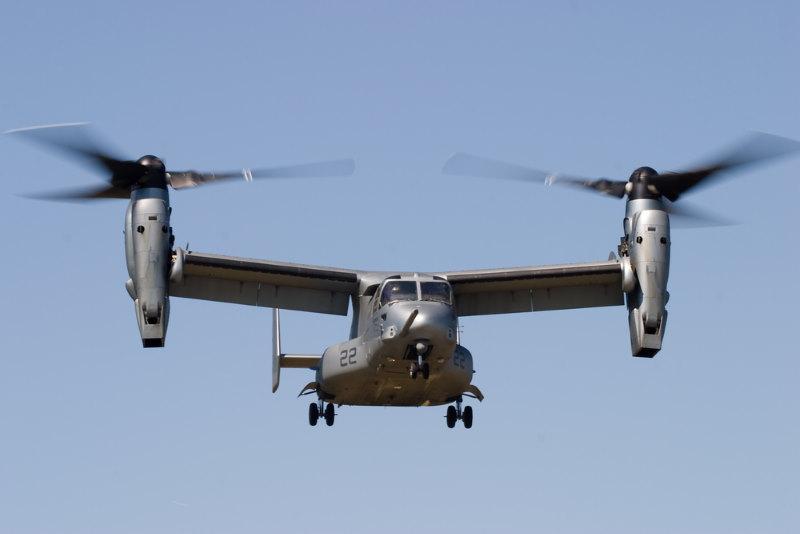 V-22 Osprey rare helikopter