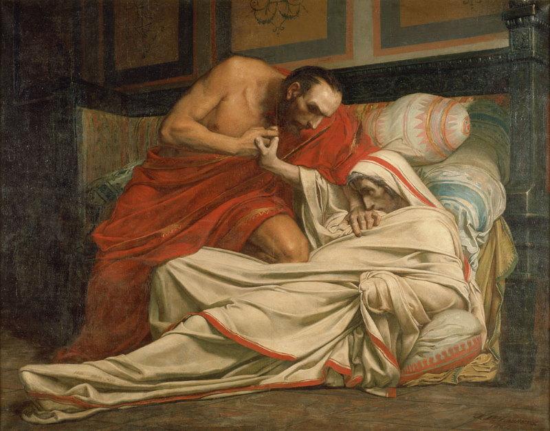 dood van tiberius