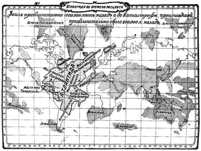 hoe groot was atlantis