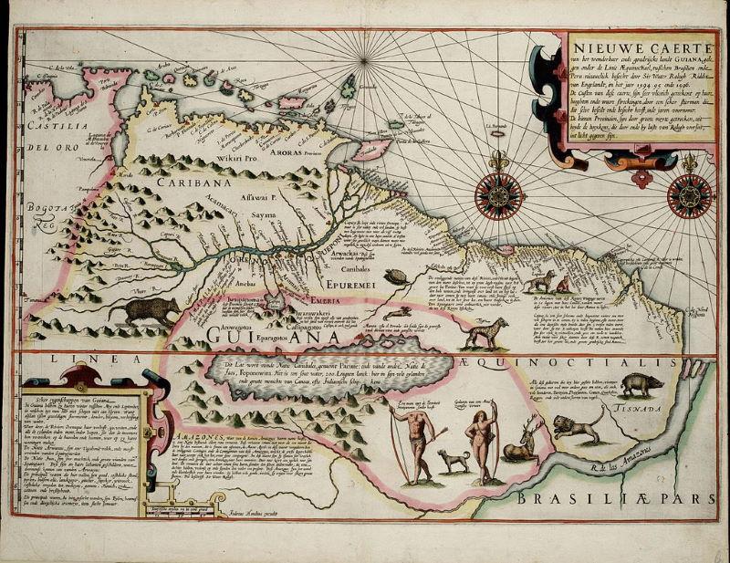 El Dorado kaart