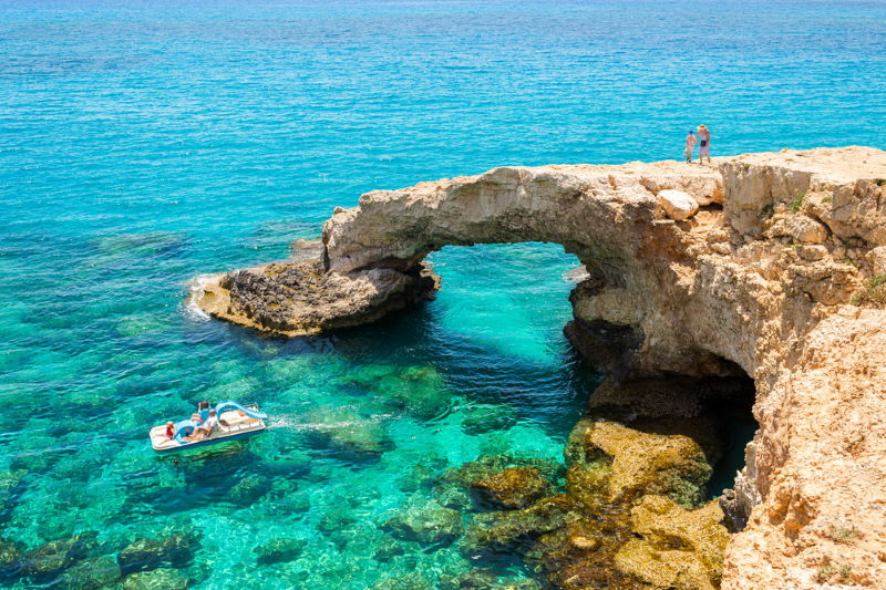 cyprus natuurlijke brug