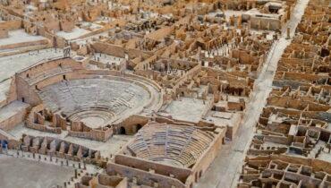 ondtekking van pompeii