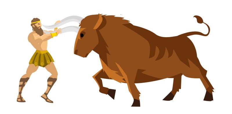 stier van Kreta
