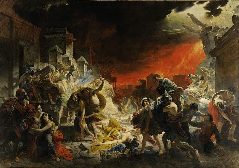 uitbarsting vesuvius - verwoesting van pompeii