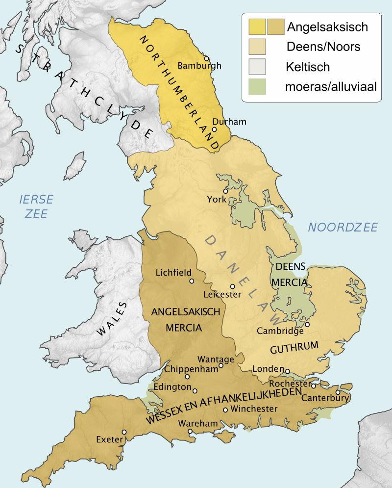 Engeland in 878