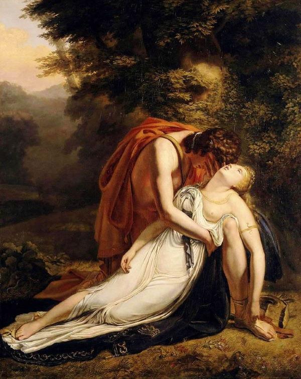 dood van eurydice