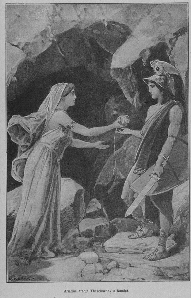 draad van Ariadne