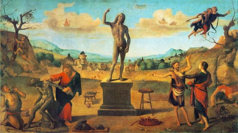 prometheus griekse mythe