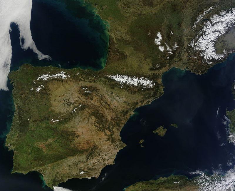 iberische schiereiland