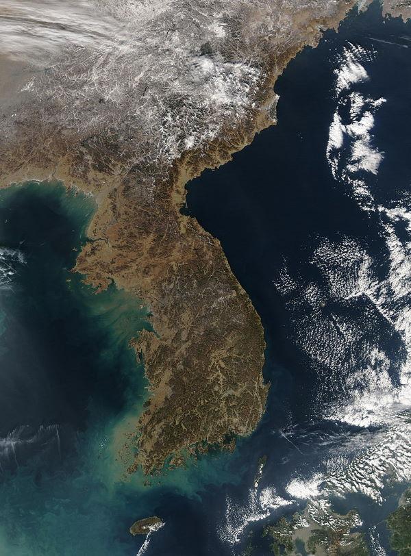 koreaanse schiereiland
