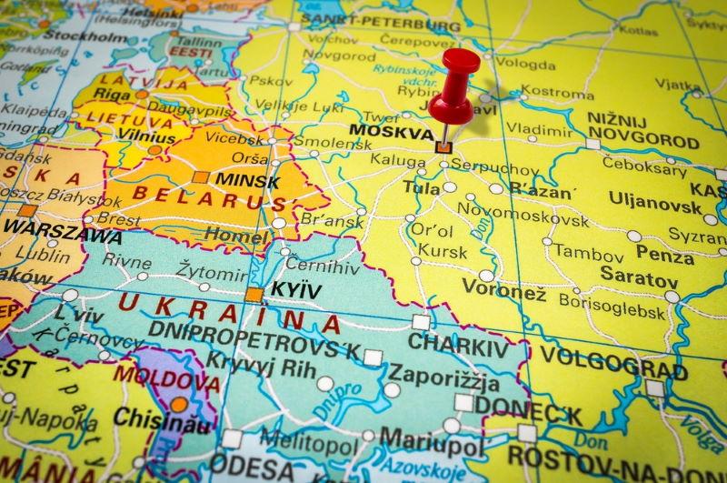 rusland map