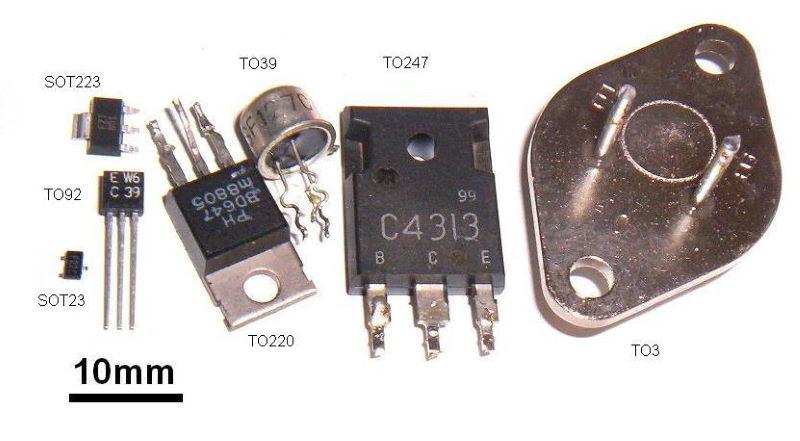 Discrete transistor