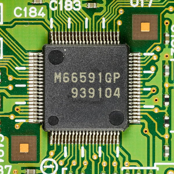 Kyocera FS-C5200DN - mainboard - Renesas M66591GP