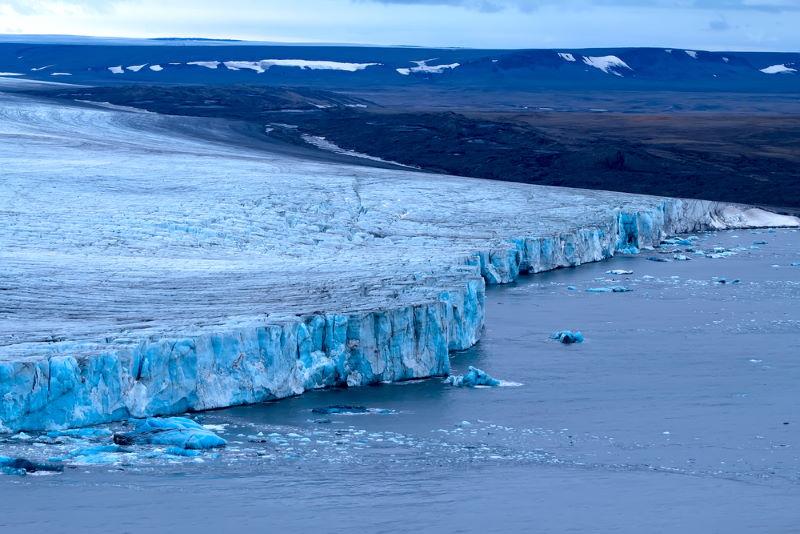 nova zembla gletsjer