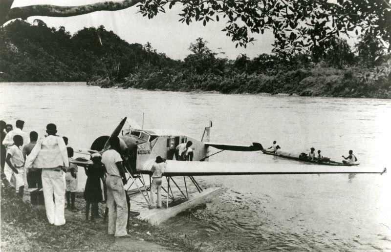 oude vliegtuig