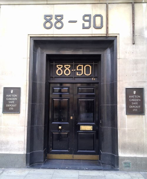Hatton Garden Safe Deposit Burglary