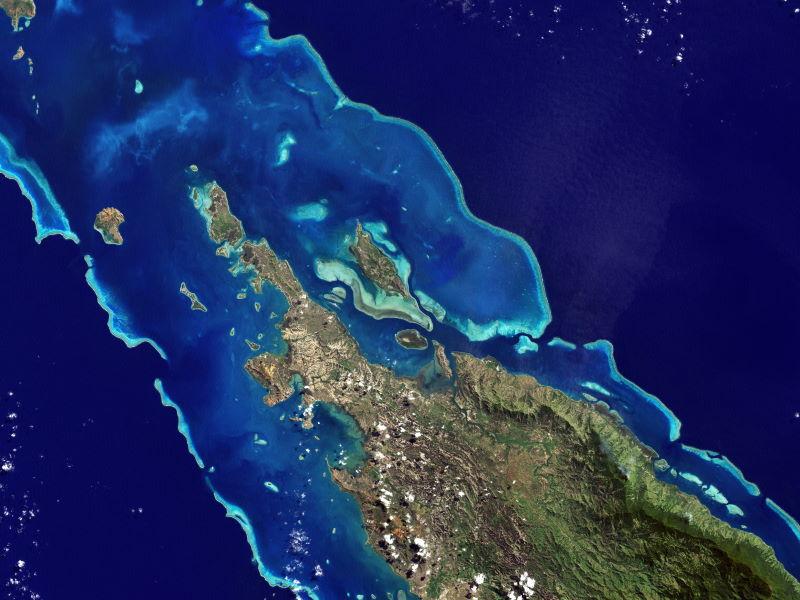 Lagunes van Nieuw-Caledonië