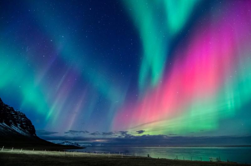 kleuren noorderlicht