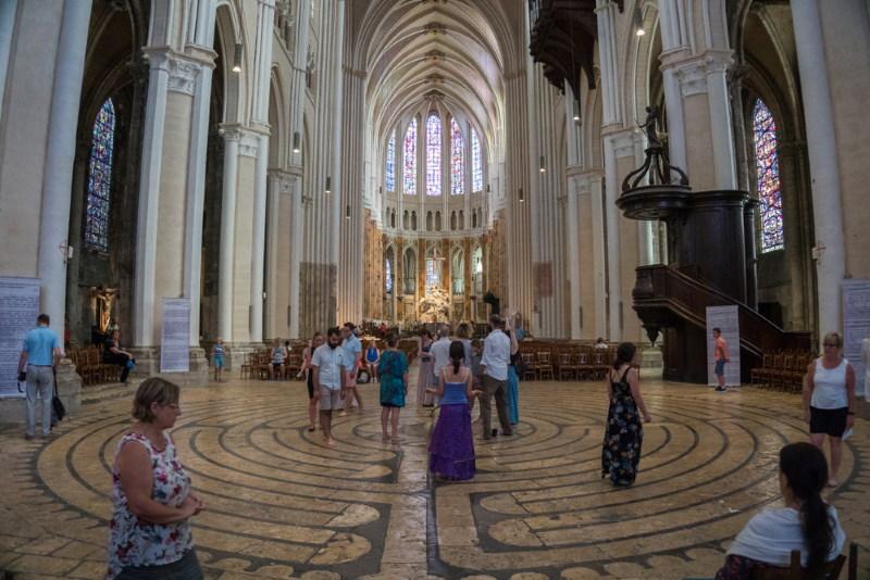 Kathedraal van Chartres doolhof