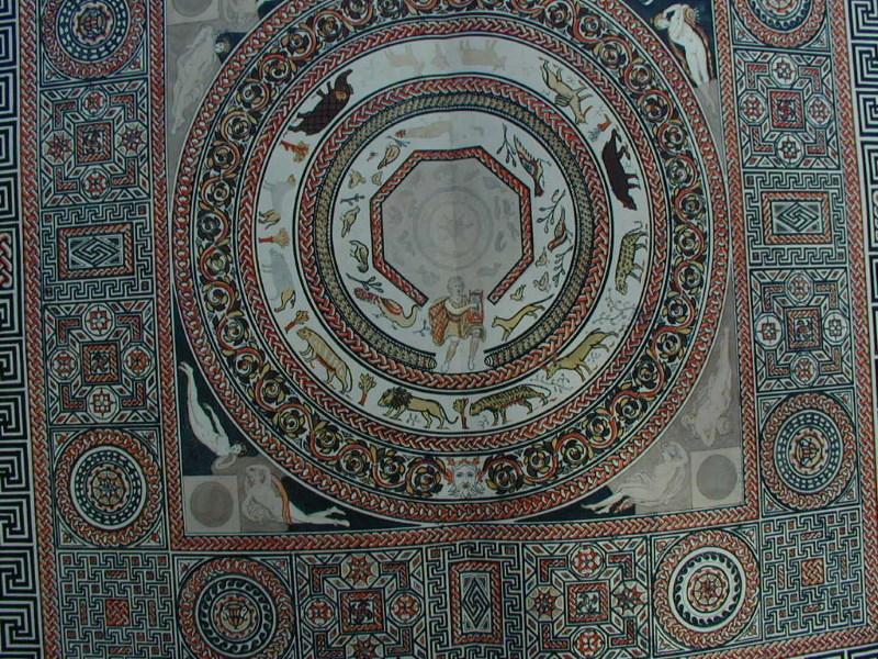woodchester mozaiek vloer