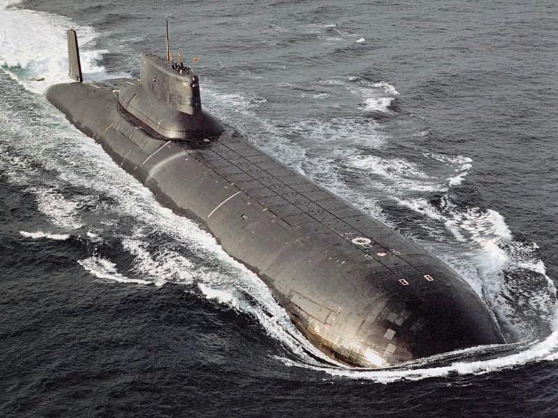 typhoon de grootste onderzeeer