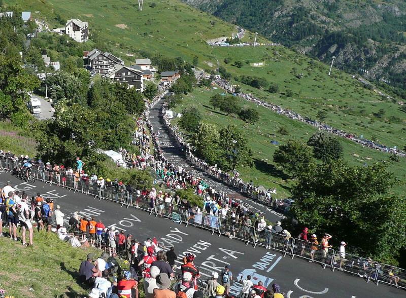 Alpe d'Huez kijkers