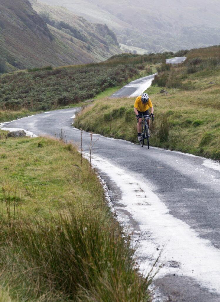 hardknott pass fietser