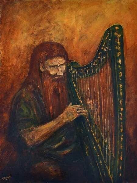 dagda harp