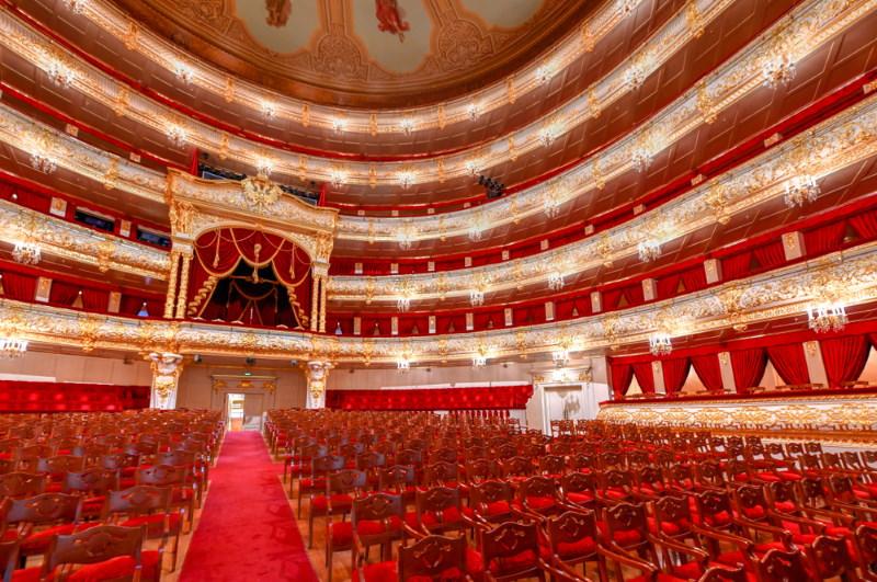 Bolsjojtheater binnenkant