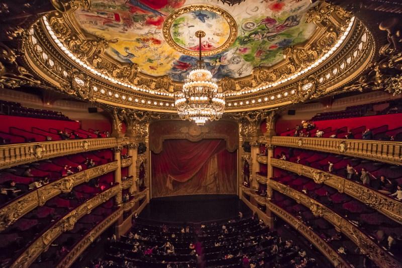 Opéra Garnier binnenkant