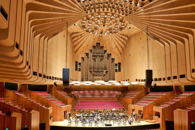 Sydney Opera House binnenkant
