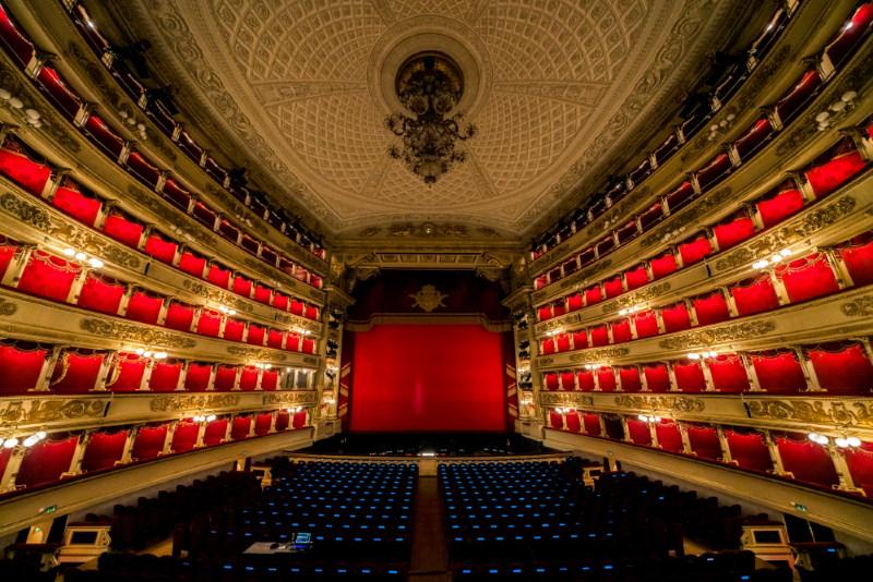 Teatro alla Scala binnenkant
