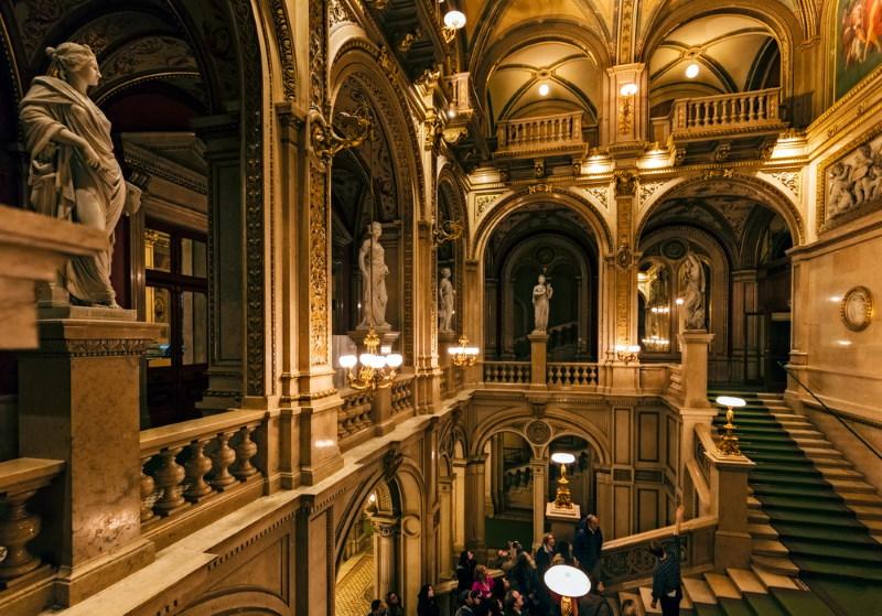 Weense Staatsopera binnenkant