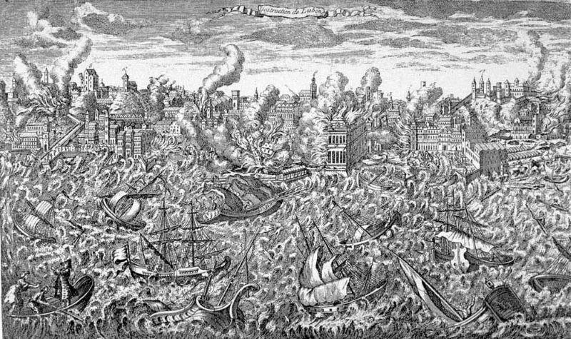 lissabon 1755 tsunami