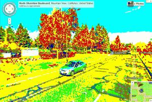 8bit streetview