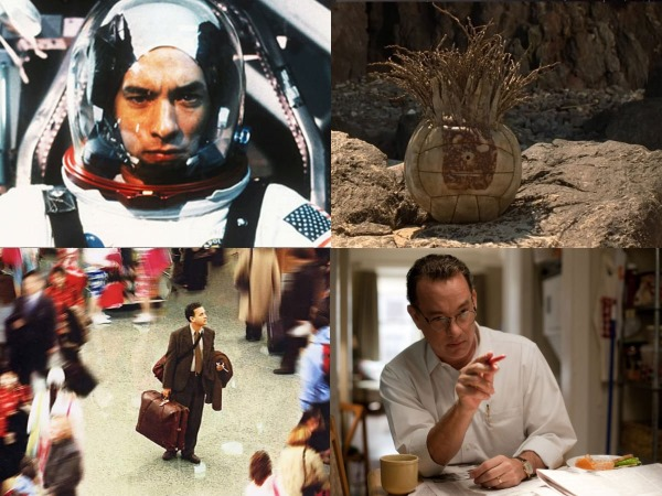 Apollo 13, Cast Away, Terminal, en Extremely Loud and Incredibly Close