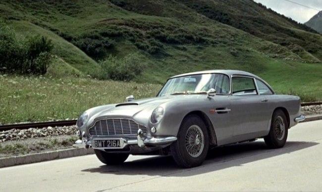 Aston Martin DB5 (Goldfinger, 1964)