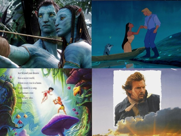 Avatar, Pocahontas, Dances With Wolves en Fern Gully