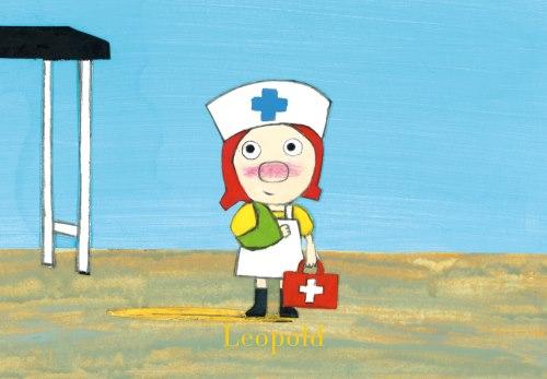Balotje bij de dokter