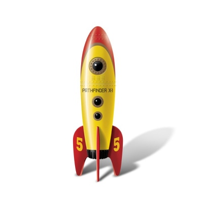 Big Teaze Toys Retro Pocket Rocket
