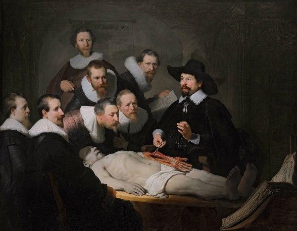 De anatomische les van Dr. Nicolaes Tulp