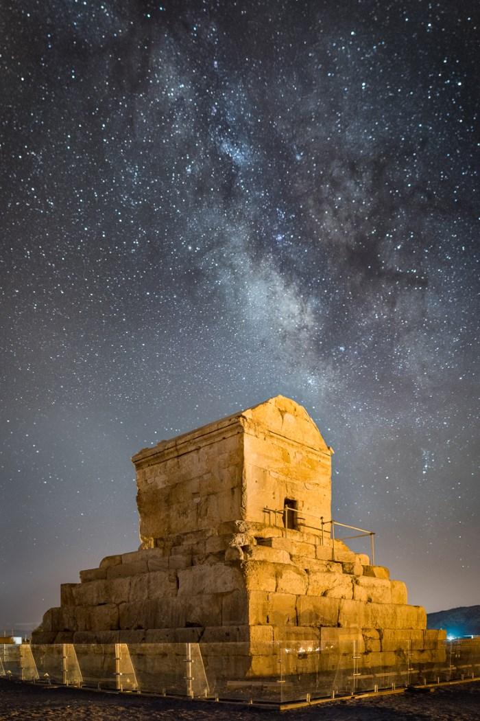 De tombe van Cyrus