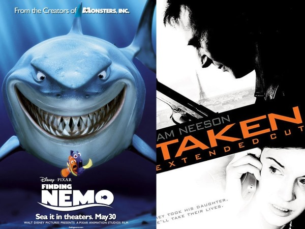 Finding Nemo en Taken