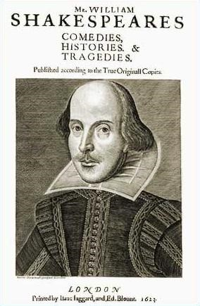 First Folio Comedies, Histories and Tragedie